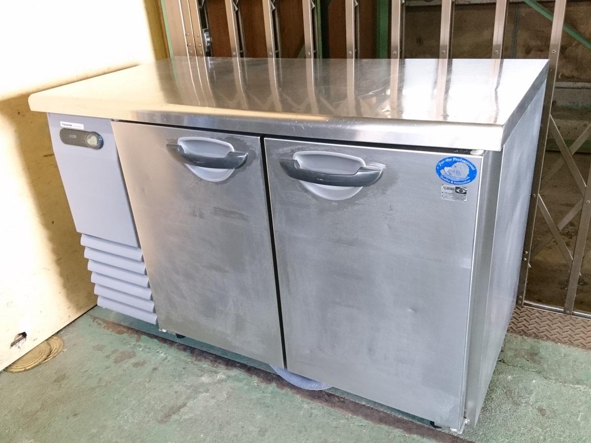 【中古 送料無料】パナソニック Panasonic コールドテーブル冷蔵庫 SUR-G1261SA 1200×600×800(mm) 業務用厨房機器【動作確認済み】