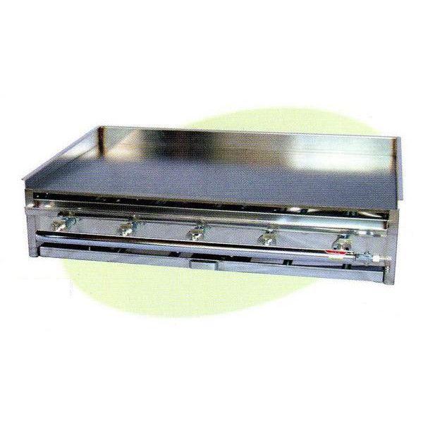 【送料無料】新品! 卓上鉄板焼 バーナー5本W910×D560×H180AK-3