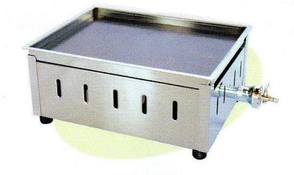 【送料無料】新品! 卓上鉄板焼 バーナーU1本W410×D310×H180No.13