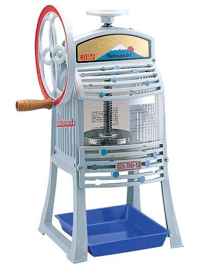 【新品】CHUBU ブロックアイススライサー かき氷機(手動) HA-110S