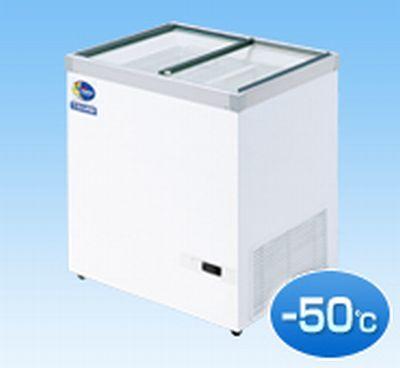 【送料無料】新品!ダイレイ 超低温冷凍ショーケース HFG-140D 133L