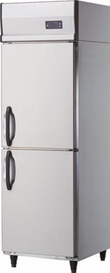 【送料無料】新品!ダイワ 2枚扉 冷凍庫 インバータ 211NYSS-EC (W600*D650)