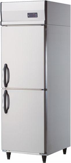 【送料無料】新品!ダイワ 2枚扉 冷凍庫 インバータ 211SS-EC (W600*D800)