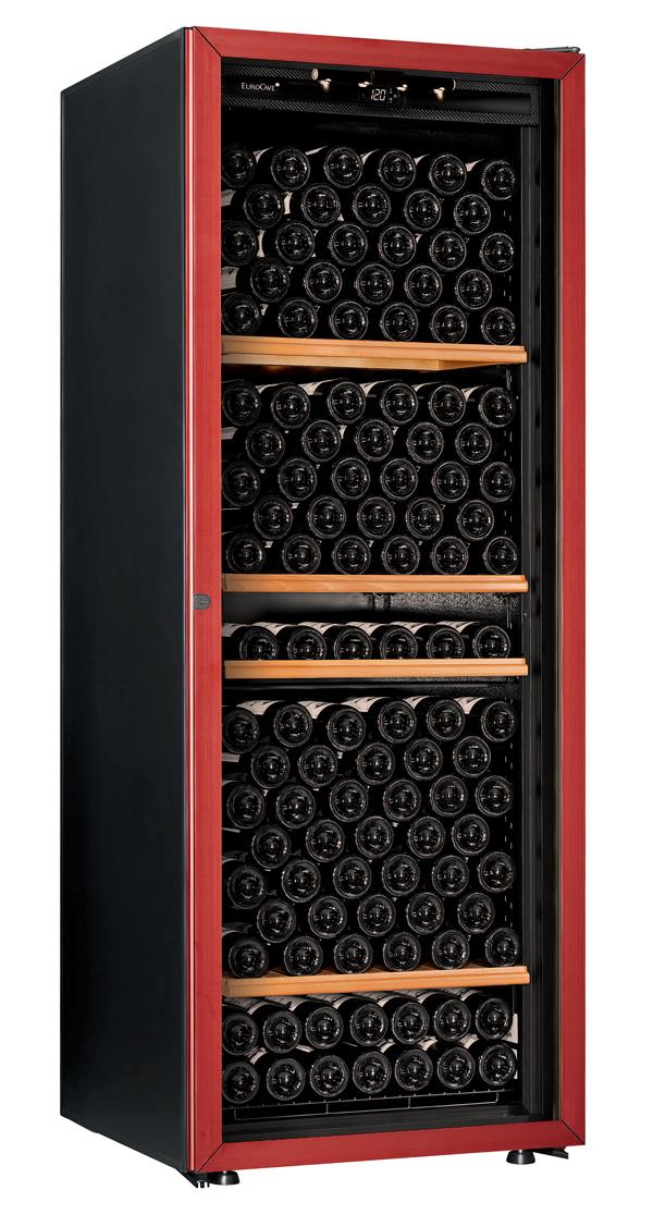 【送料無料】新品!ユーロカーブ(EUROCAVE) ワインセラー (460L・213本) Premiere-L-T-PTHF(赤)