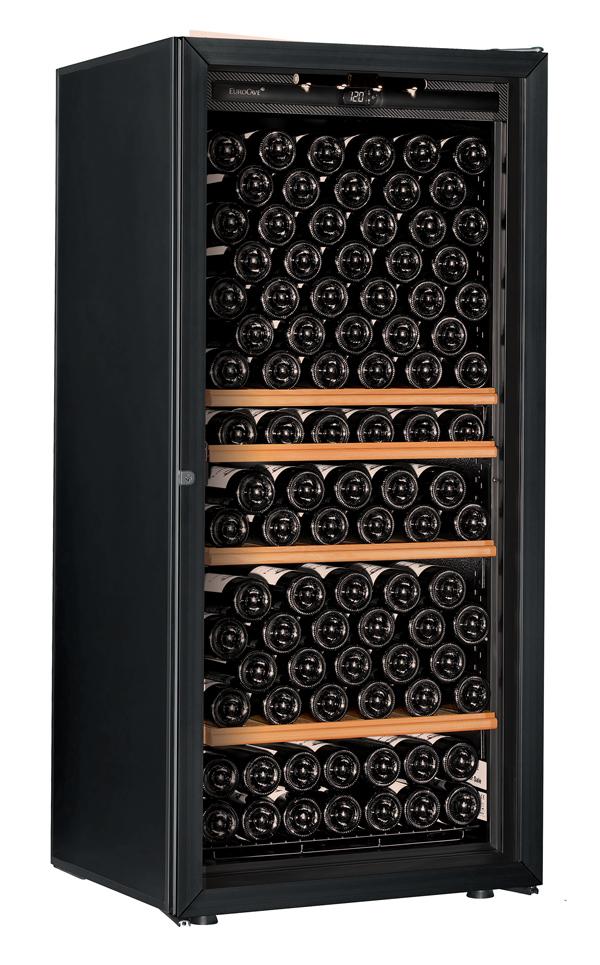 【送料無料】新品!ユーロカーブ(EUROCAVE) ワインセラー (355L・169本) Premiere-M-T-PTHF(黒)