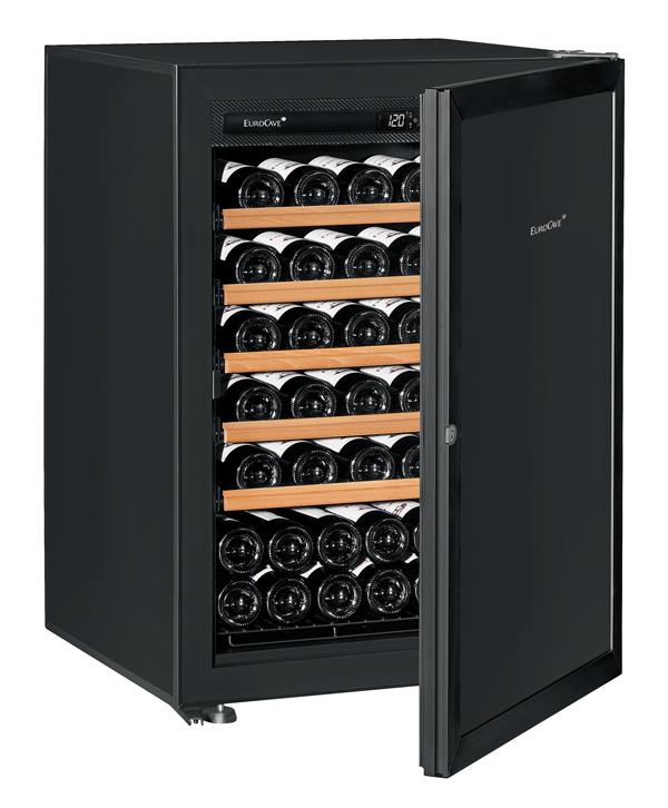 【送料無料】新品!ユーロカーブ(EUROCAVE) ワインセラー (225L・74本) Premiere-S-C-STD(黒)