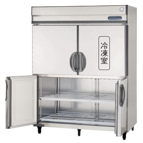 【送料無料】新品!フクシマ 4枚扉インバーター冷凍冷蔵庫 GRN-151PM-F(旧ARN-151PM-F)[受注生産]