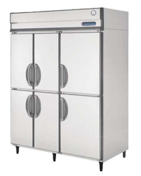 【送料無料】新品!フクシマ 6枚扉インバーター冷蔵庫 GRN-1560RM(旧ARN-1560RM)[受注生産]