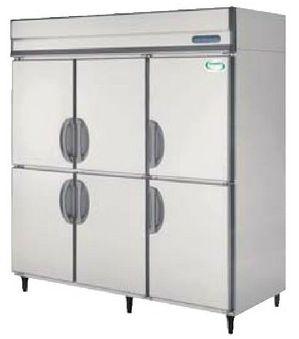 【送料無料】新品!フクシマ 6枚扉冷蔵庫インバーター(200V)ARD-180RMD