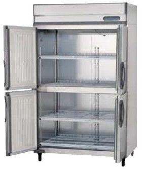 【送料無料】新品!フクシマ 4枚扉冷蔵庫インバーター ARN-120RM-F