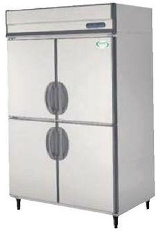 【送料無料】新品!フクシマ 4枚扉冷蔵庫インバーター(200V)ARN-120RMD 受