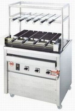 【送料無料】新品!ヒゴグリラー シュラスコ焼機タイプ 3G-230 【電気グリラー/焼物】