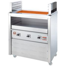 【送料無料】新品!ヒゴグリラー 二刀流タイプ 床置型 3H-215 【電気グリラー/床置型/焼物】
