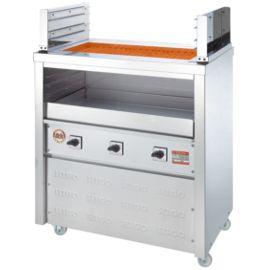 【送料無料】新品!ヒゴグリラー 二刀流タイプ 床置型 3H-221 【電気グリラー/床置型/焼物】