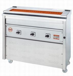 【送料無料】新品!ヒゴグリラー 焼鳥専用タイプ 床置型 3P-206K 【電気グリラー/床置型/焼物】