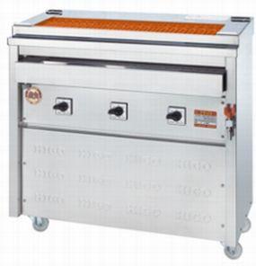 【送料無料】新品!ヒゴグリラー 焼鳥大串タイプ 床置型 3P-212XW 【電気グリラー/床置型/焼物】