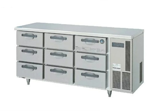 業務用厨房機器 送料無料 新品 ホシザキ 売れ筋 セットアップ 右ユニットタイプ ドロワー冷蔵庫 RT-165DDCG-R 3段