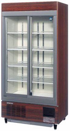 【送料無料】新品!ホシザキ リーチイン冷蔵ショーケース(木目調) RSC-90C-1B