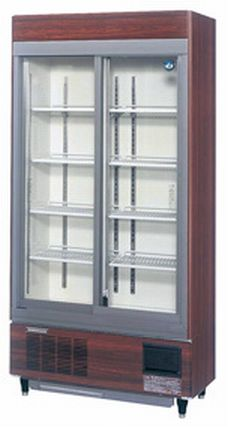 【送料無料】新品!ホシザキ リーチイン冷蔵ショーケース(木目調) RSC-90CT-1B