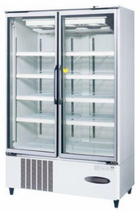 【送料無料】新品!ホシザキ リーチイン冷凍ショーケース (白) USF-120XT3-1 受