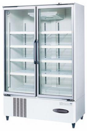 【送料無料】新品!ホシザキ リーチイン冷蔵ショーケース (白) USR-120X3-1 受