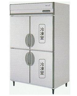 【送料無料】新品!フクシマ 2冷凍2冷蔵庫 (200V)URN-122PMD6[受注生産]