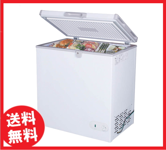 【送料無料】新品!ジェーシーエム(JCM) 冷凍ストッカー 152L W735*D595*H855 JCMC-152