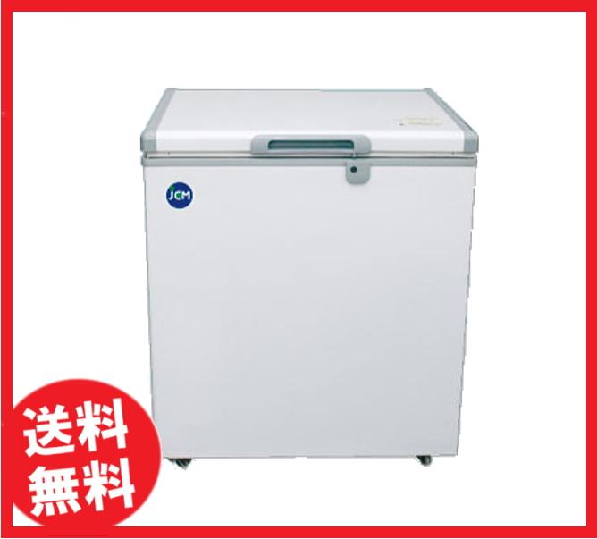 【送料無料】新品!ジェーシーエム 冷凍ストッカー 142L W734*D600*H840 JCMC-142