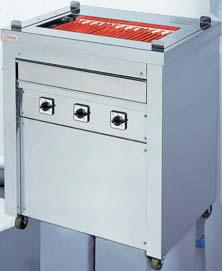 【送料無料】押切電機 スタンド型 電気グリラー(万能タイプ) G-10