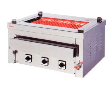 【送料無料】押切電機 卓上型 電気グリラー(卓上万能タイプ) 給・排水付 G-10T