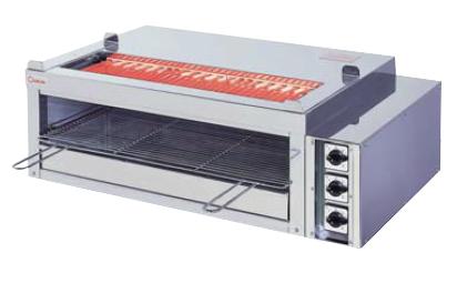 【送料無料】押切電機 卓上型 電気グリラー(両面串焼卓上タイプ) G-10TW-2