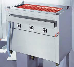 【送料無料】押切電機 スタンド型 電気グリラー 万能タイプ(給排水口付) G-18