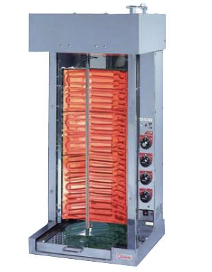 【送料無料】押切電機 シュラスコ焼器(回転式焼肉器) 回転コントローラー付 KMT-10