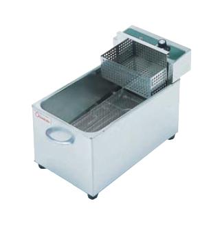 【送料無料】押切電機 卓上型 電気フライヤー(ミニタイプ) 滑り板付 OFT-200S