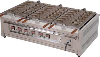 【送料無料】押切電機 電気たい焼器 OGT-2