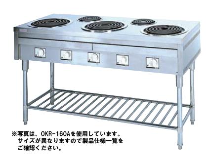【送料無料】押切電機 電気テーブルレンジ OKR-180A