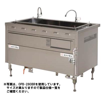 【送料無料】押切電機 電気ゆで麺器 (ゆで釜タイプ) OPB-280BL
