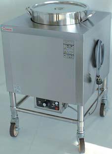【送料無料】押切電機 電気スープ・ウォーマーカート(角型) OTK-500