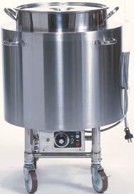 【送料無料】押切電機 電気スープ・ウォーマーカート(丸型) OTR-500