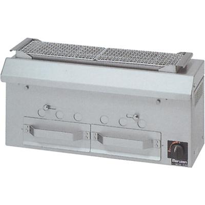 【送料無料】新品!マルゼン 下火式焼物器 (串焼用) MCK-073