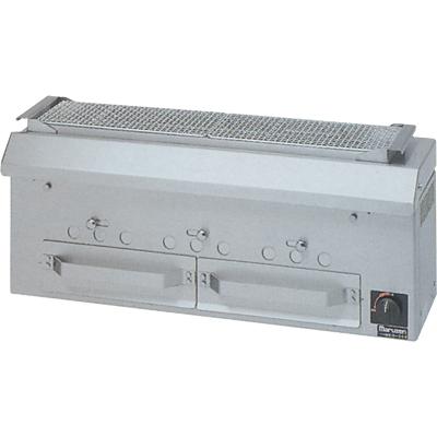 【送料無料】新品!マルゼン 下火式焼物器 (串焼用) MCK-093
