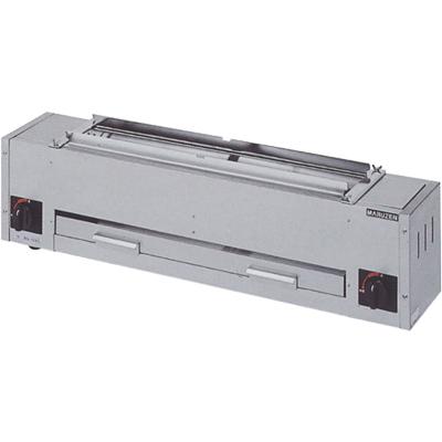 【送料無料】新品!マルゼン 下火式焼物器 熱板タイプ(串焼用) MGK-102B