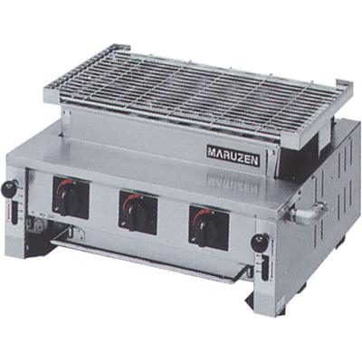【送料無料】新品!マルゼン 下火式焼物器 熱板タイプ(汎用型) MGK-306B