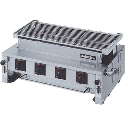 【送料無料】新品!マルゼン 下火式焼物器 熱板タイプ(汎用型) MGK-308B