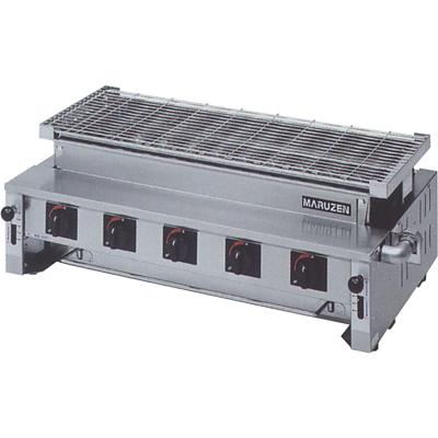 【送料無料】新品!マルゼン 下火式焼物器 熱板タイプ(汎用型) MGK-310B