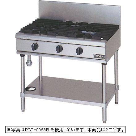 【新品】マルゼン NEWパワークックガステーブル(2口) RGT-0962C