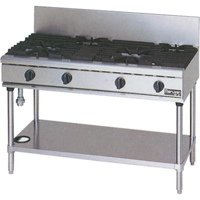 【新品】マルゼン NEWパワークックガステーブル(4口) RGT-1264C