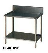 【送料無料】新品!マルゼン 水切台 (バックガードあり) W900*D600*H800 BSW-096