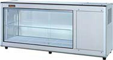 【送料無料】新品!ネスター 冷蔵ディスプレイケース 片面スライド(97L・右ユニット)RDC-121R405