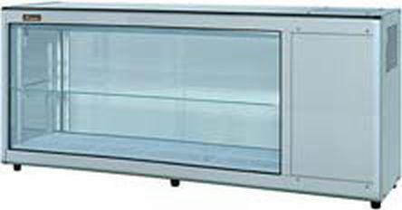 【送料無料】新品!ネスター 冷蔵ディスプレイケース 片面スライド(148L・右ユニット)RDC-151R356